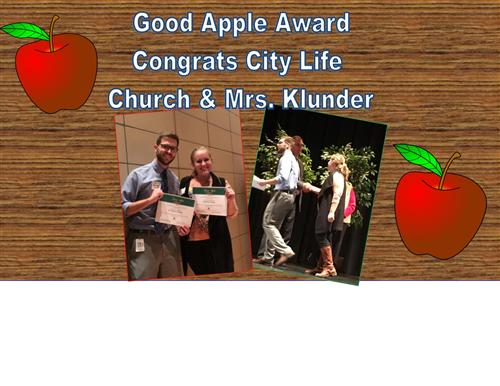Good Apple Awards at Harry Street Elementary!